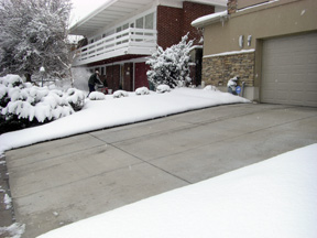 residential snow removal services, Oakville